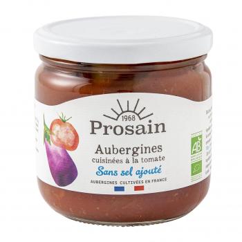 Aubergines à la tomate sans sel ajouté 38.8cl bio - PROSAIN