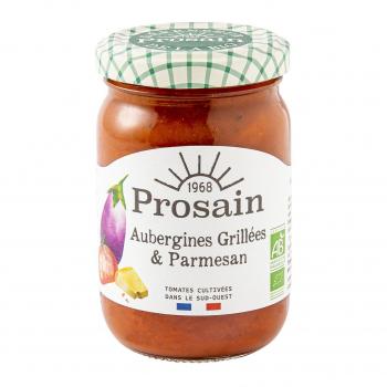 Sauce tomate aux aubergines grillées & parmesan 200g bio - PROSAIN