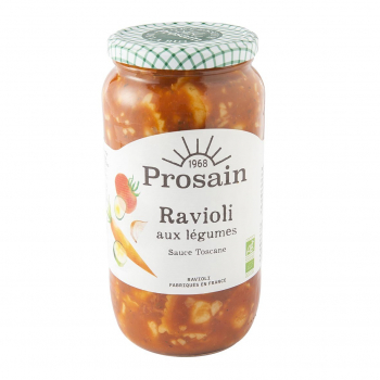 Raviolis aux légumes 1kg bio - PROSAIN