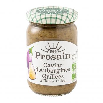 Caviar d'aubergines grillées 200g bio - PROSAIN