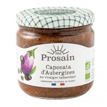 Caponata d'aubergines 38.8cl bio - PROSAIN