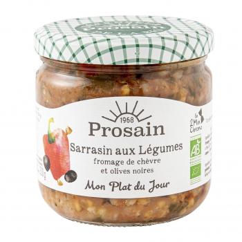 Sarrasin aux légumes 365g bio - PROSAIN