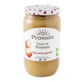 Purée de pommes sans sucres ajoutés 820g bio - PROSAIN