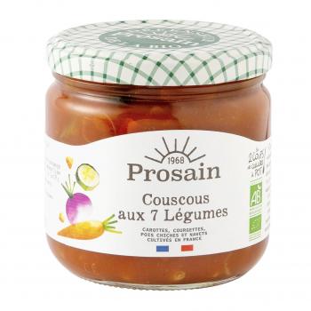 Couscous aux 7 légumes 360g bio - PROSAIN