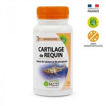 Cartilage de requin 120 gél. - MGD