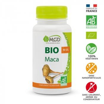 Maca 90 gél. bio - MGD