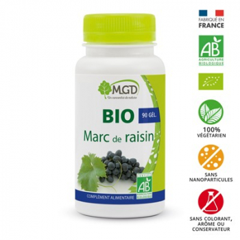 Marc de raisin 90 gél. bio - MGD