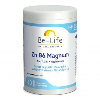 Zn B6 Magnum 60 gélules - Be-Life