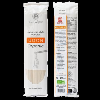 Udon (Pâtes Japonaises au Blé Dur) Bio 250g - Celnat