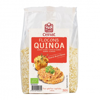 Flocons de quinoa 350g bio - Celnat