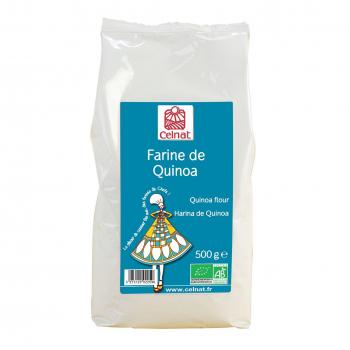 Farine de quinoa 500g bio - Celnat