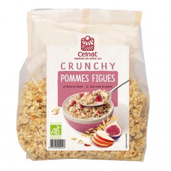 Crunchy Pommes-figues 500g bio - Celnat