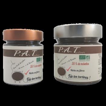 Pâte à tartiner BIO sans huile de palme - P.A.Tartiner - 250 g