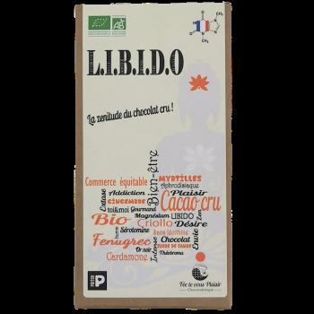 Tablette de chocolat CRU Bio L.I.B.I.D.O - 75 % de cacao
