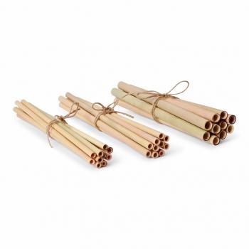lot de pailles bambou