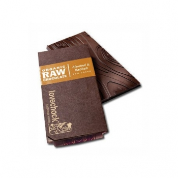 Tablette de Chocolat Cru Amande & Baobab - Lovechock
