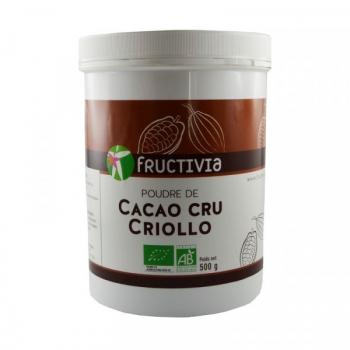 Poudre de Cacao cru Criollo Bio - 500 g