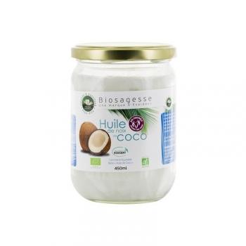 Huile de Noix de coco BIO - pot de 450 ml - Ecoidées