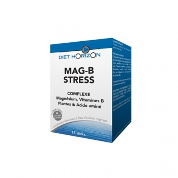 Mag-B Stress - 15 Sticks - Diet Horizon