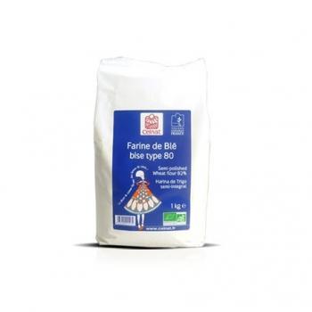 Farine de Blé bise Type 80 1kg-Celnat