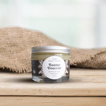 Baume Douceur - beurre de coco & calendula bio