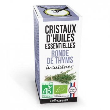 AROMANDISE - Cristaux d'huiles essentielles Ronde de Thyms bio 10g