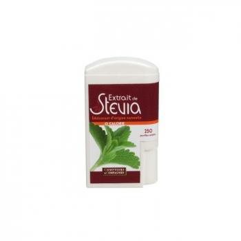 COMPTOIRS ET COMPAGNIES - Stévia - Distributeur de 250 pastilles