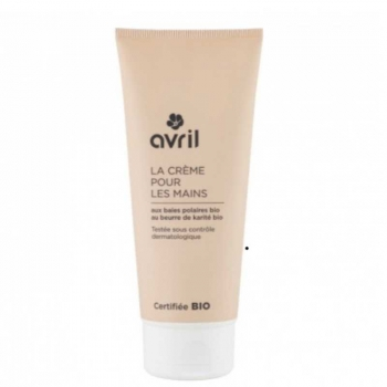 Crème pour les mains bio - 100 ml - Avril