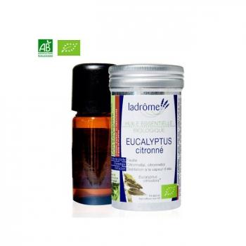 LADRÔME - Huile essentielle bio d'Eucalyptus citronné 10ml