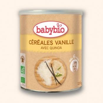 Céréales Vanille avec Quinoa 220g-Babybio