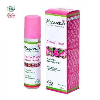 MOSQUETA'S - Crème Tonus bio anti-rides à l'huile de rose musquée 50ml