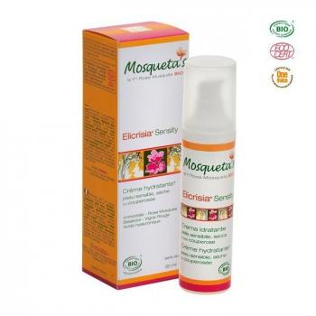 MOSQUETA'S - Crème Elicrisia Sensity bio Peaux sensibles ou couperosées 50ml