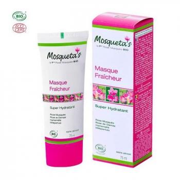 MOSQUETA'S - Masque super hydratant bio à la rose musquée 75ml