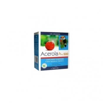 Acerola Plus 500 - 32 Comprimés -Dr Grandel Le toucan