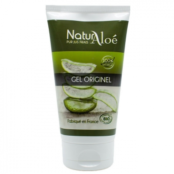 NATURALOE - Gel originel d'Aloe vera bio 150ml