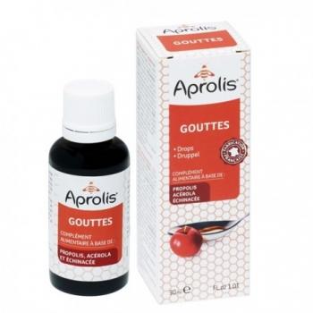 Gouttes Propolis Echinacée Acérola - 30ml - Aprolis