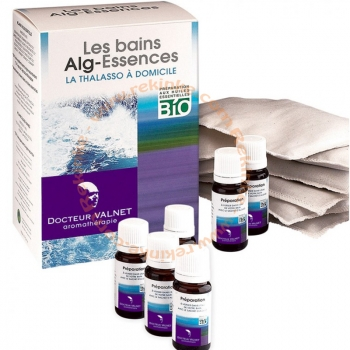 Alg-essences Bio - Bain maison - coffret 6 utilisations