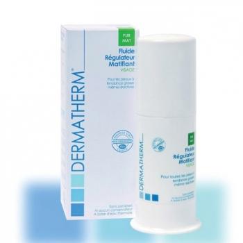 DERMATHERM - PurMat Fluide régulateur matifiant bio Visage 50ml