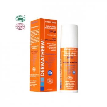 DERMATHERM - PurSun Crème solaire bio SPF 30 Visage & Corps 150ml