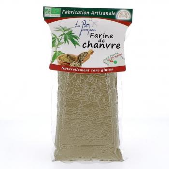 Farine de chanvre bio, 350 g