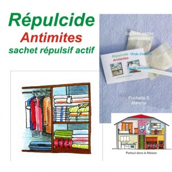 Antimites naturel répulcide
