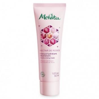 MELVITA - Masque Hydratant Nectar de Roses 50mL-Melvita