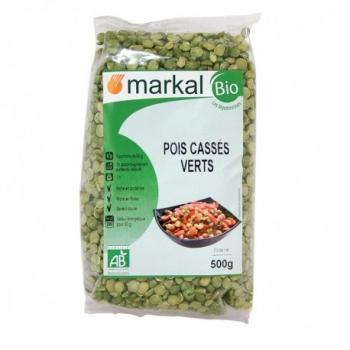 Pois Cassés Verts 500g-Markal