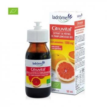 LADRÔME - Citruvital 1000mg Extrait pépins de pamplemousse bio 50ml