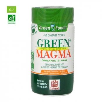 GREEN MAGMA - Green Magma Jus d'herbe d'orge bio en poudre 80g