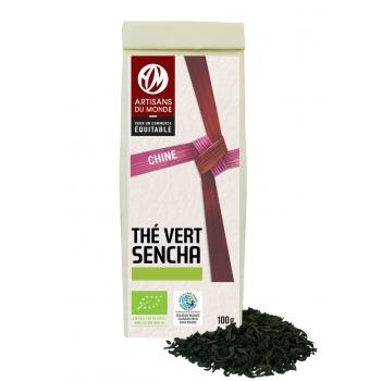 Thé vert bio et équitable en vrac