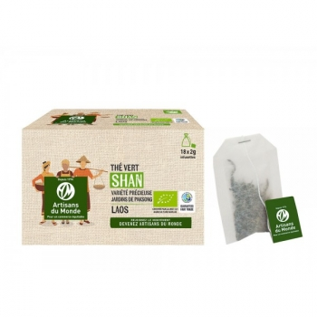 Thé vert Bio - infusettes 18 x 2g