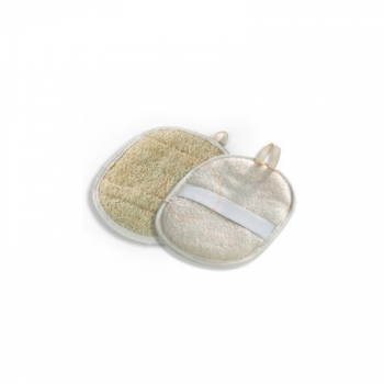 Gant Loofah Naturel Oval de Massage 17cm