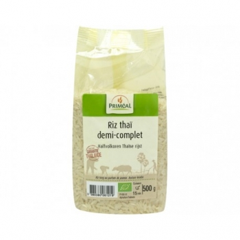 Riz Thai Demi-complet 500g-Priméal
