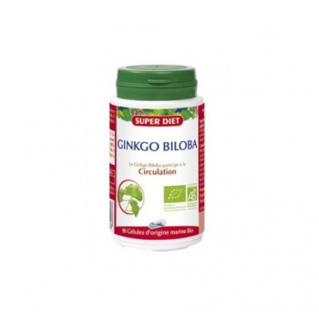 Ginkgo Biloba - 90 Gélules - SuperDiet